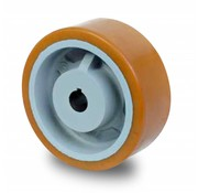 Koło napędowe Vulkollan® Bayer opona litej stali, Ø 160x80mm, 1000KG