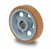 Antriebsräder Vulkollan® Bayer  Lauffläche Radkörper aus Gußeisen, Ø 125x40mm, 450KG