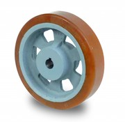 Antriebsräder Vulkollan® Bayer  Lauffläche Radkörper aus Gußeisen, Ø 100x40mm, 350KG