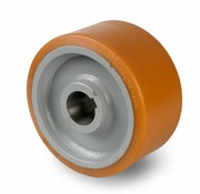 Koło napędowe Vulkollan® Bayer opona korpus odlewana z stalowej spawane, Ø 400x125mm, 3850KG