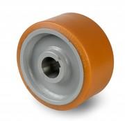 Koło napędowe Vulkollan® Bayer opona korpus odlewana z stalowej spawane, Ø 600x200mm, 9200KG