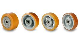 Vulkollan® Wheels With Ball Bearings