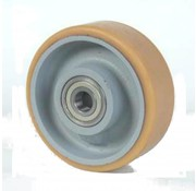 poliuretano Vulkollan® bandaje núcleo de rueda de hierro fundido, Ø 250x50mm, 1100KG