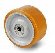 Vulkollan® Bayer tread welded steel core, Ø 450x100mm, 3500KG