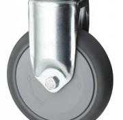 Zestaw stały, Ø 125mm, termoplastyczna guma szara, niebrudząca, 100KG