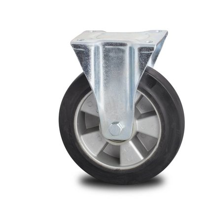Fixed Castor Wheels - Rubber / Syntethic / Polyurethane Wheels