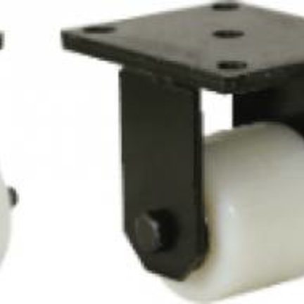 Heavy Duty Nylon Roller Wheels with a Fixed or Swivel Castor