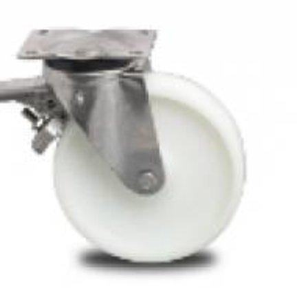 Medium Duty Plastic Castor Wheels