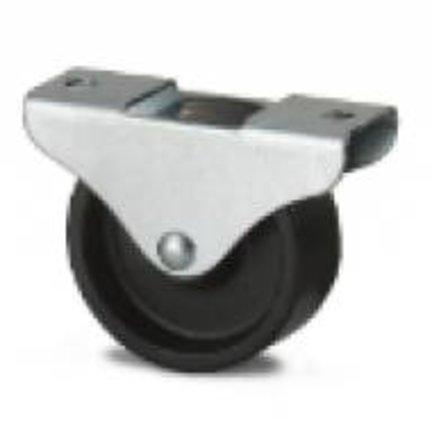 Hjul til sort polypropylen plast møbler til standard applikationer.