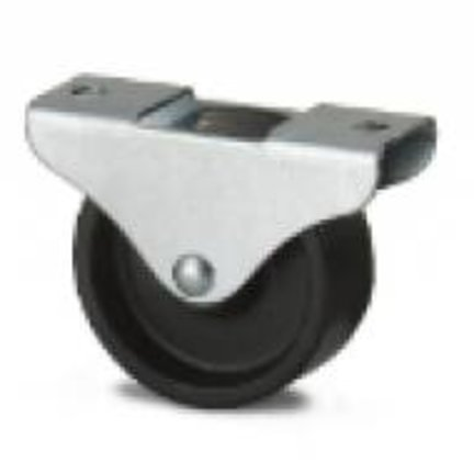 Polypropylene furniture castors 50 till 100 mm | perfect for displays and light institutional use