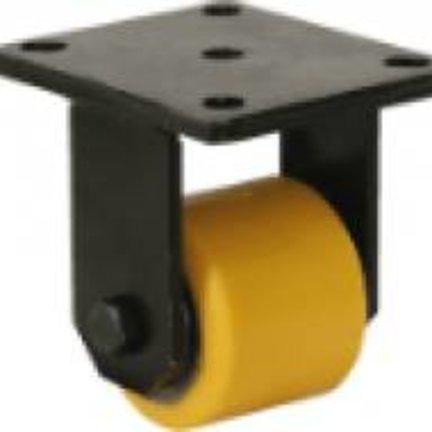 Heavy Duty Polyurethane Tread Rollers - Low Height Castors