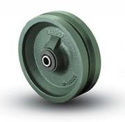 Vinkelsporhjul, Ø 150mm, Solid stål, 1000KG