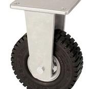Naprawiono rycynowy z super elastyczne koła gumowe 305 mm, ładowność: 535 kg w 6 kilometrów na godzinę