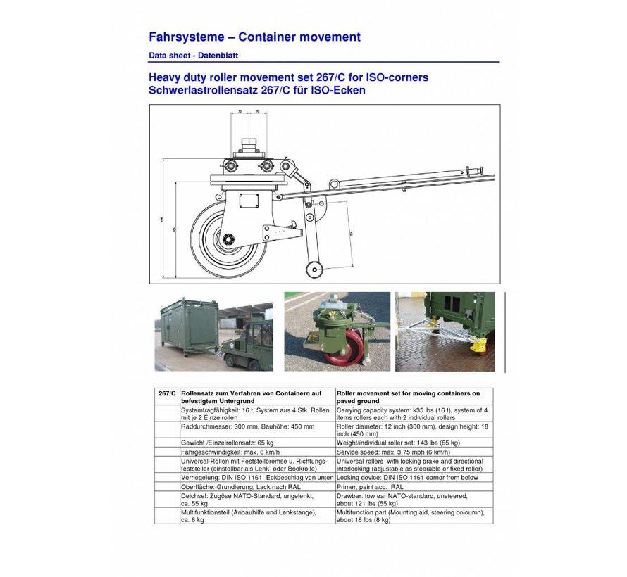 Carga ISO ricino Un recipiente de 16 toneladas