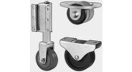 Möbelrollen und Walzen - Light & Heavy Duty Industrie Räder für Möbel