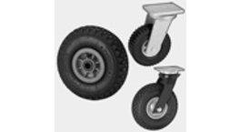 Pneumatic Wheels & Castors With Pneumatic Tyres