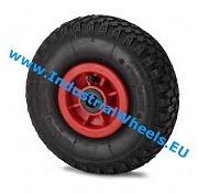 Roda, Ø 260mm, rodagem pneumática dolgu profilli, 150KG