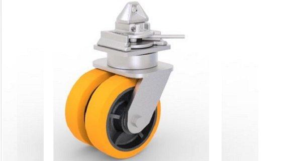 Kraftiga hjul för smidig och säker Rolling
