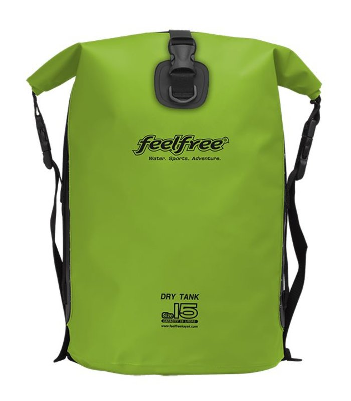 Feelfree Drytank 15 liter limoen