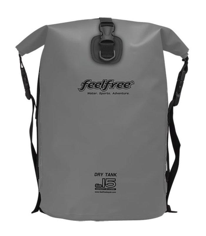 Feelfree Drytank 15 liter grijs