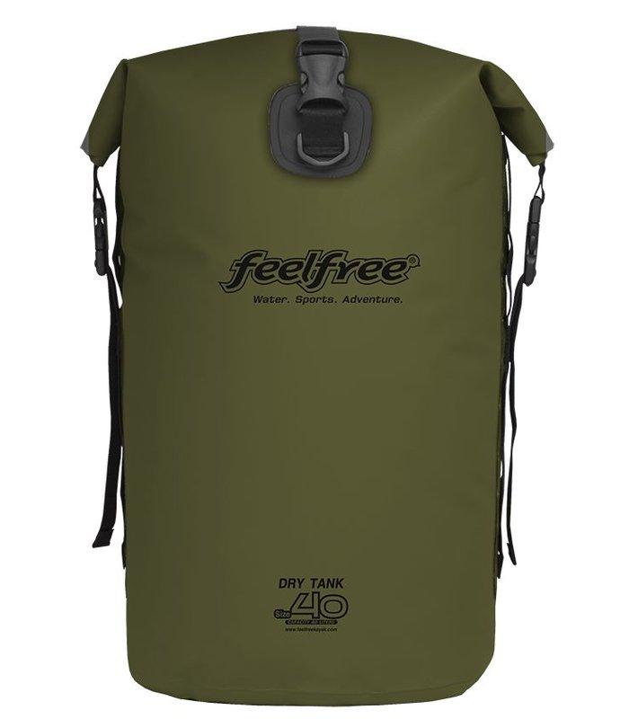 Feelfree Drytank 40 liter olijf