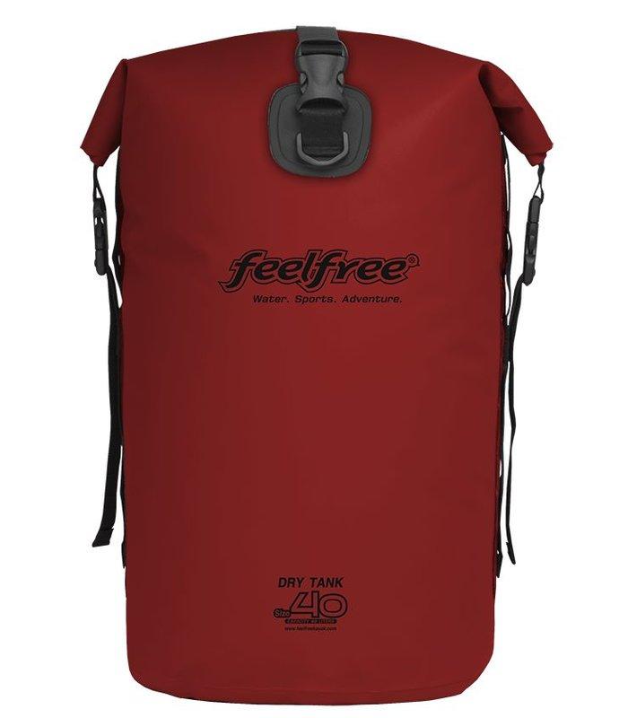 Feelfree Drytank 40 liter rood