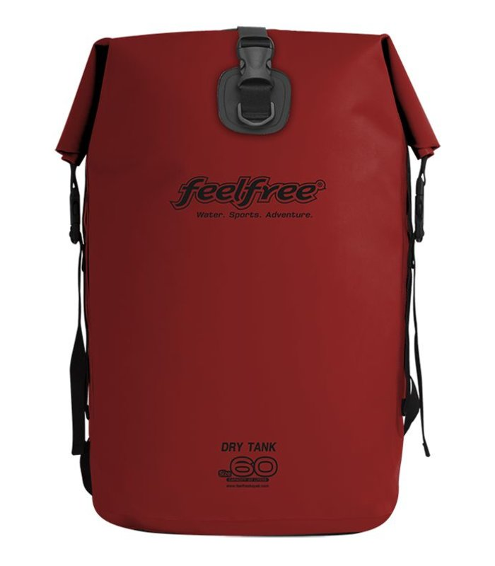 Feelfree Drytank 60 liter rood