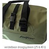 Feelfree Dryduffel 25 liter zwart