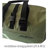 Feelfree Dryduffel 25 liter oranje