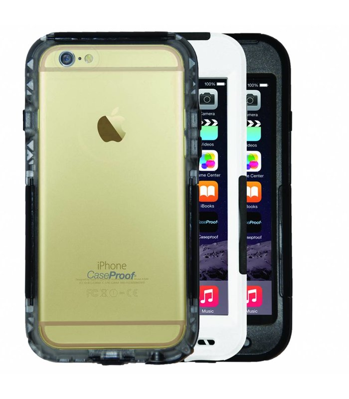 Caseproof Clear Iphone 6 en 6S zwart of wit