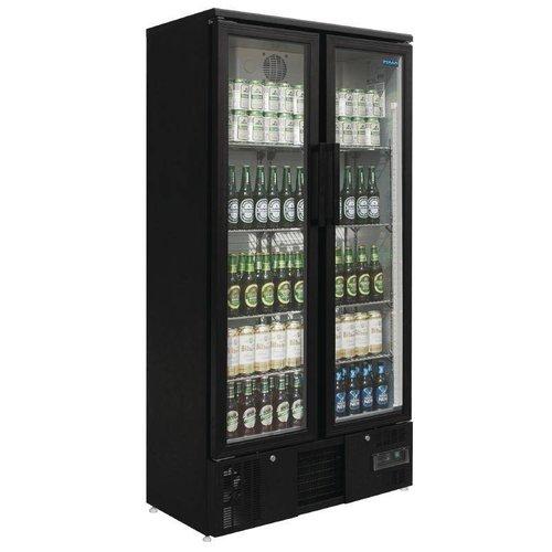 Polar koelkast met 2 glazen deuren - 490 Liter