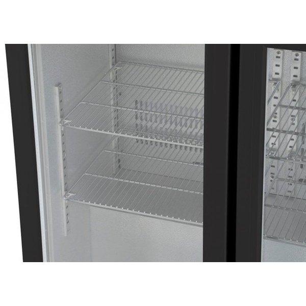 Husky Barkoelkast / Flessenkoelkast / Displaykoelkast met 3 deuren