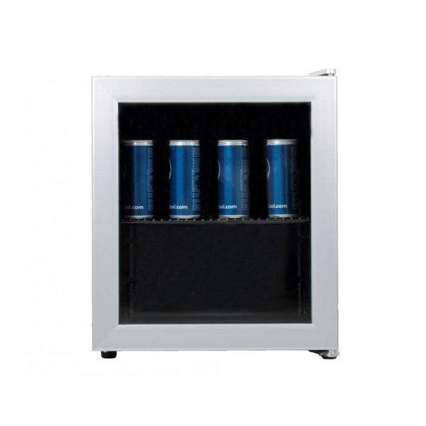 Exquisit Mini Glasdeur Koelkast - 50 Liter