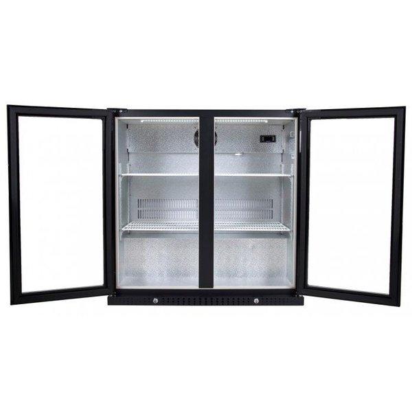 Barkoelkast / Flessenkoeler / Displaykoeler met 2 deuren