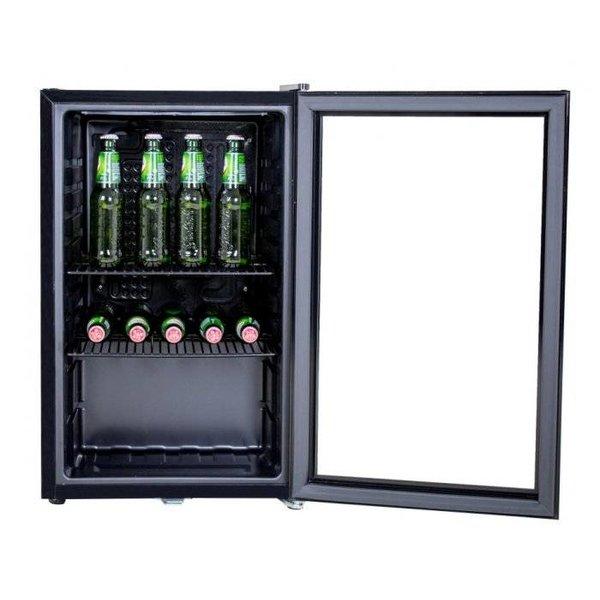 Husky Koelkast Glazen Deur - 71 Liter