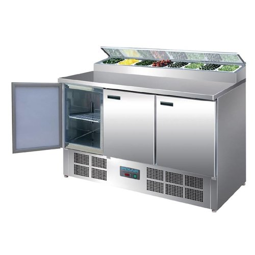 Polar 3-Deurs Pizza & Salade Prepareer Counter