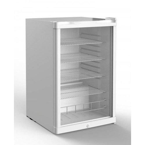 Husky Koelkast glazen deur - 130 liter
