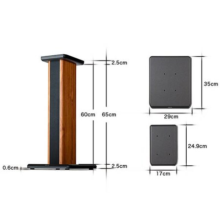 Edifier SS02 Speaker Stands (pair)