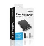 "Sharkoon Rapid Case 2.5"" USB 3.1 Type C"