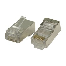 RJ45 Connector Stranded STP CAT6 (10 stuks)