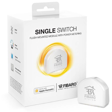 Fibaro Single Switch works with Apple HomeKit