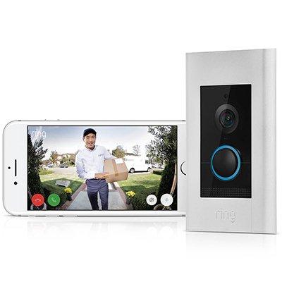 Ring Video Deurbel Elite, exclusief leverbaar bij Wifimedia