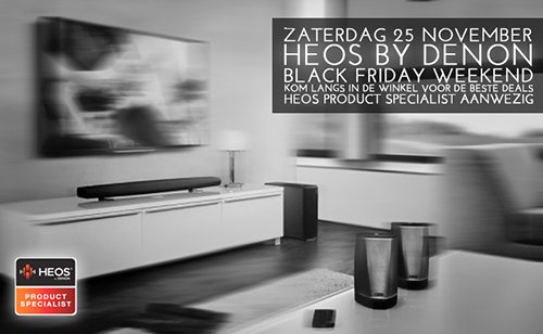 Koop je eerste aankopen voor de feestdagen tijdens het Black Friday Weekend bij Wifimedia!