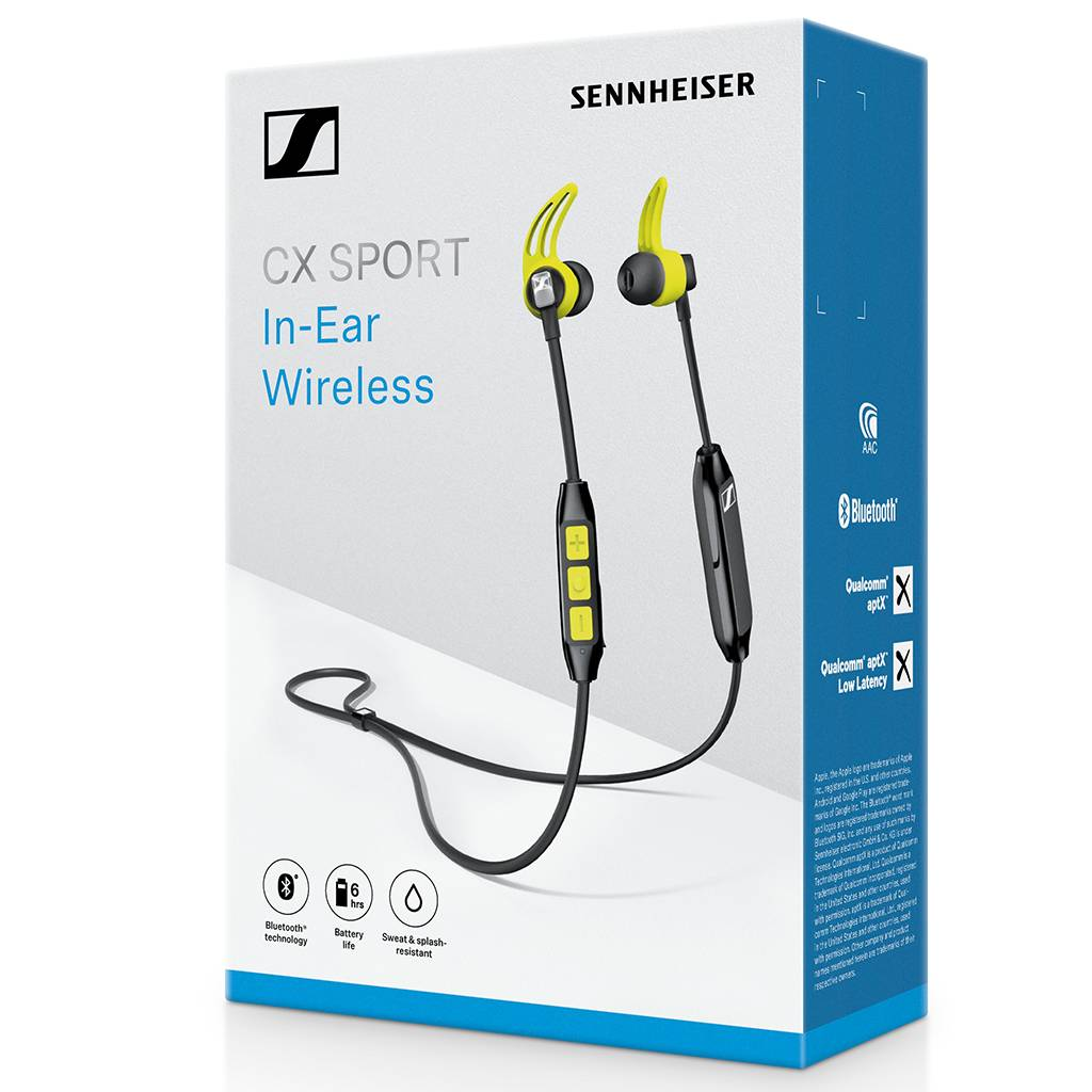 Sennheiser Cx Sport Wifimedia Authorised Partner Headphone Wiring Diagram In Ear Wireless