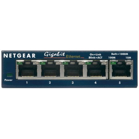 Netgear GS105GE ProSafe 5-Port Gigabit Switch