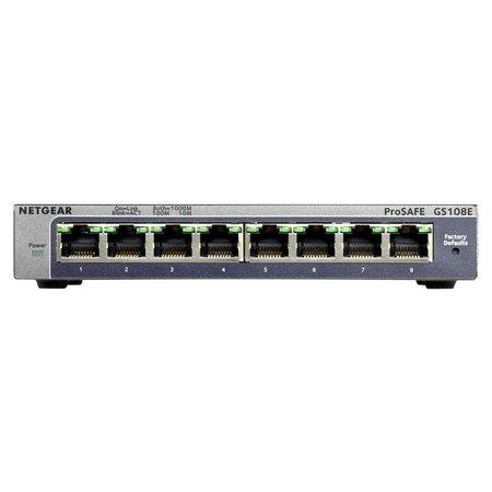 Netgear GS108E V3 ProSafe Plus 8-Port Gigabit Switch
