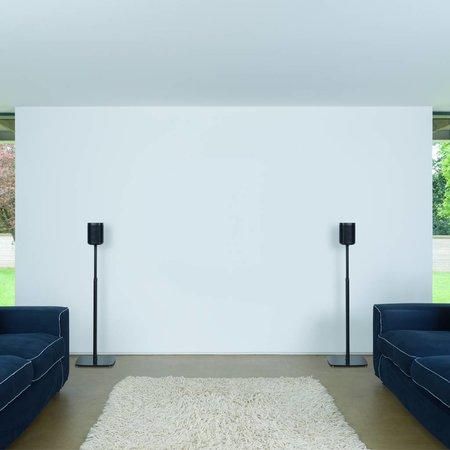 Flexson Verstelbare Vloerstandaard voor Sonos One & PLAY:1 (set)