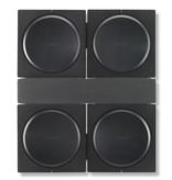 Flexson Muurbeugel voor 4 Sonos Amps
