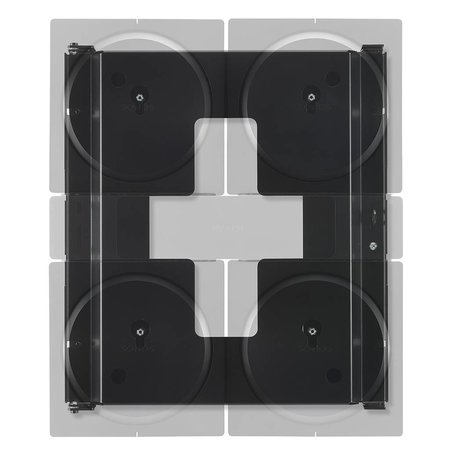 Flexson Wall Mount for 4 Sonos Amps
