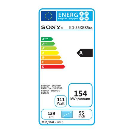 Sony KD-55XG8599